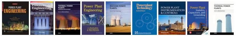 power plant books