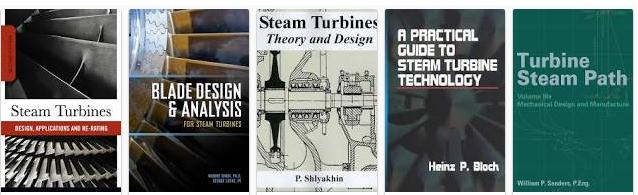 Steam Turbines Books