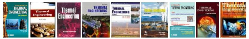 Thermal Engineering Handbooks