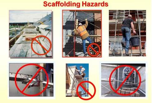 Scaffolding Hazards and safety