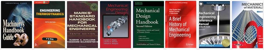 Best mechanical engineering Reference books