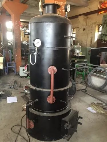 Simple vertical boiler working