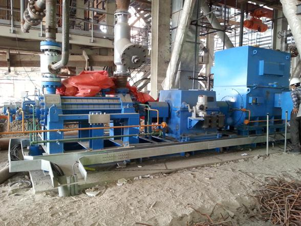 Commissioning of boiler feed water pump