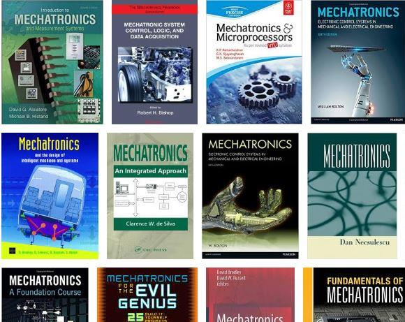 Mechatronics books
