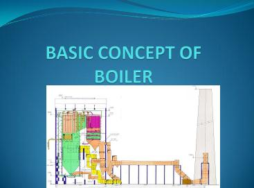 Basic Concepts of a Boiler