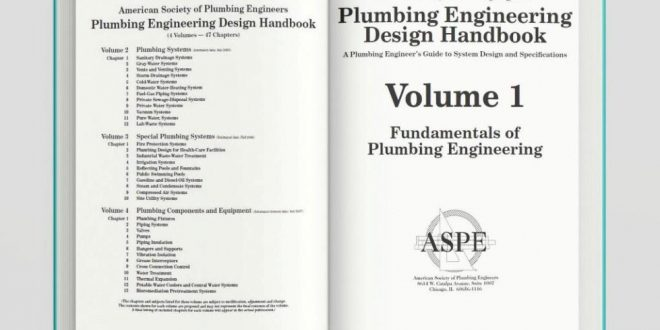 Plumbing Engineering Design Handbook