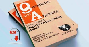 Question and Answer For Magnetic Particle Testing Method
