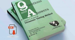 Questions and answers in the ultrasonic testing