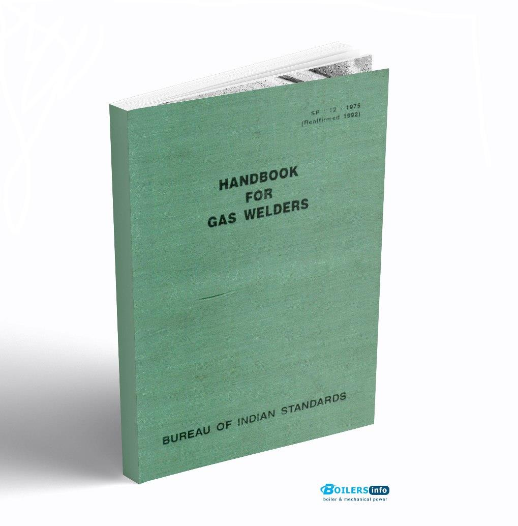 Handbook for gas welders